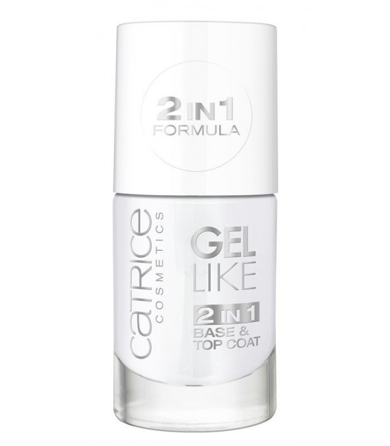 catr. gel 2in1 base & top coat