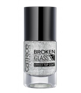 catr. broken glass effect top coat