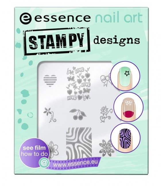 ess. nail art plantillas estampado 01