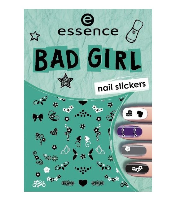 ess. bad girl stickers para uñas 02
