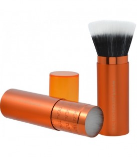 Retractable Bronzer Brush - Brocha para polvos de sol e iluminador REAL TECHNIQUES