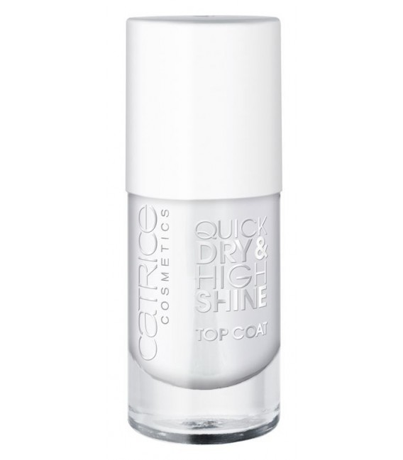 catr. quick dry & high shine top coat