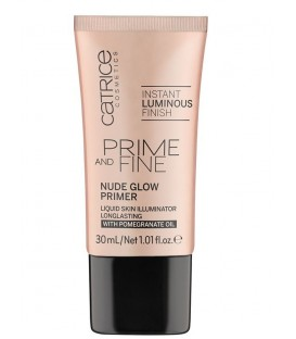 catr. prime and fine nude glow primer