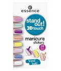 ess. stand out! 3D touch manicure stickers 01