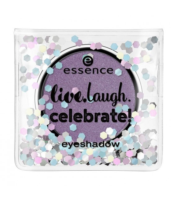Ess. live, laugh, celebrate sombra de ojos