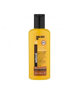 CHIA SEED OIL VOLUME & SHINE SHAMPOO 100ML NATURAL WORLD