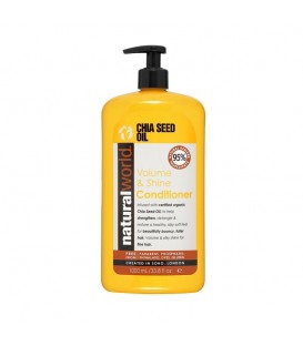 CHIA SEED OIL VOLUME & SHINE CONDITIONER 1000ML NATURAL WORLD