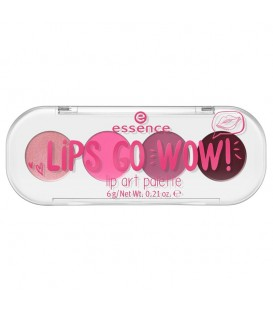 ess. lips go wow! lip art paleta 01