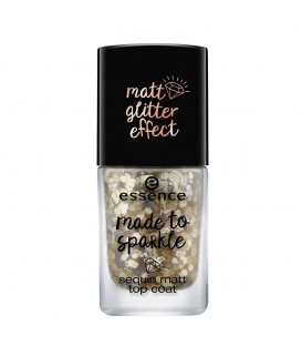 ess. made to sparkle sequin matt topcoat 01