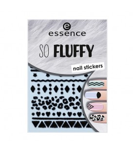 ess. so fluffy stickers para uñas 11