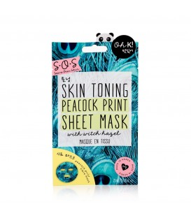 Oh K! SOS Printed Peacock Print Sheet Mask