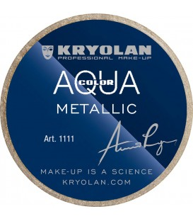 Kryolan Aquacolor Metálicos 8 ml.