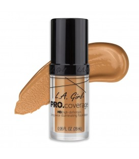 L.A. Girl Base Pro Coverage Illuminating - Nude Beige