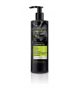 CARBO DETOX CARBON FACE CLEASING GEL FOR MIXED AN OIL SKIN 195G