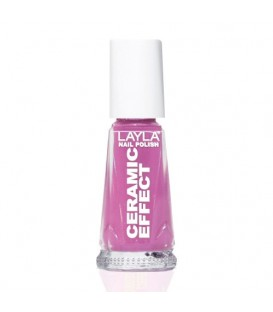 LAYLA NAIL POLISH CERAMIC EFFECT SOUR CHERRY