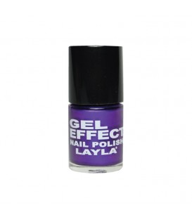 LAYLA GEL EFFECT NAIL POLISH BLUE PURPLE