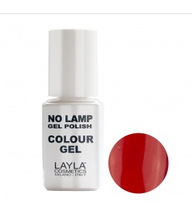 GEL POLISH   NO LAMP RED VEGAS