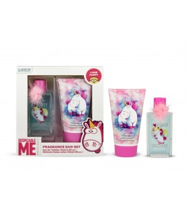 MINIONS UNICORNIO EDC 75ML+GEL DE BAÑO 150 ML