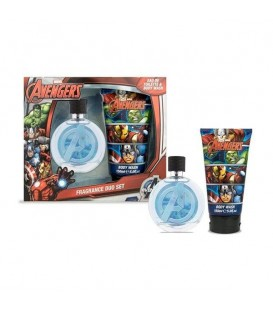 VENGADORES EDC 75ML+GEL DE BAÑO 150 ML