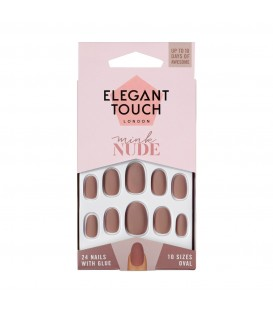 ET Nude Collection - Mink (oval/ matte) ELEGANT TOUCH