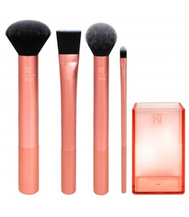 Flawless Base Set - Kit de brochas para rostro REAL TECHNIQUES