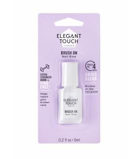 Pegamento con pincel_4 Second Brush on Nail Glue - 6ml ELEGANT TOUCH