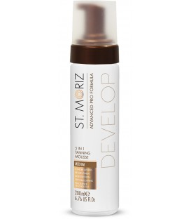 Mousse autobronceadora 5 en 1 Medium 200 ml - Advanced Pro ST MORIZ
