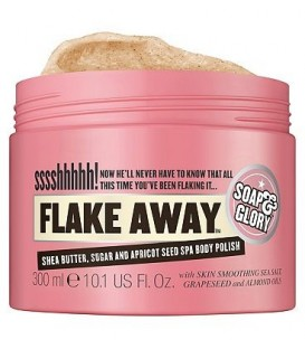 Soap & Glory Flake Away Body Scrub  300ml 10.1 US Fl. Oz.