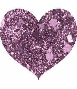 Glitters prensado Baby Pink Crushed Diamonds With Love Cosmetics
