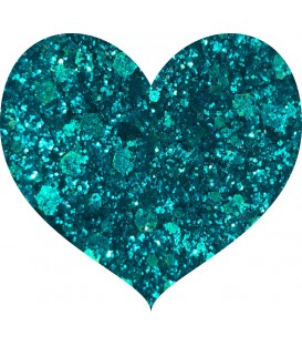 Glitters prensado Ocean Blue Crushed Diamonds With Love Cosmetics