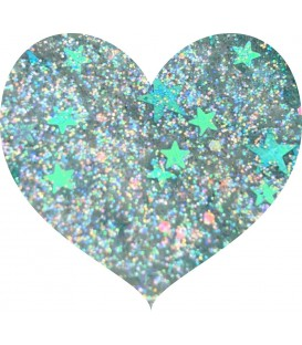 Glitters prensado Limited Edition - Shooting Stars With Love Cosmetics