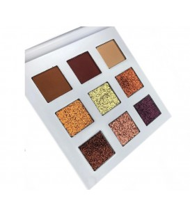Paletas 9 sombras y pigmentos The Natural One With Love Cosmetics