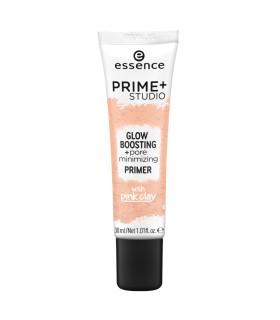ess. prime + studio iluminador + primer minimizdor de poros
