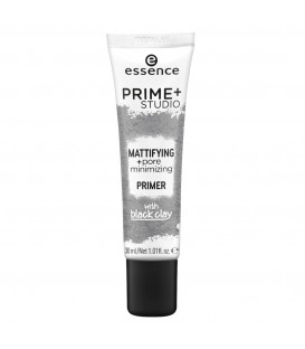 ess. prime + studio matificador + primer minimizador de poros