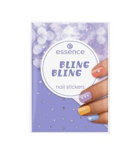 ess. BLING BLING stickers de uñas