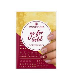ess. go for Gold stickers de uñas