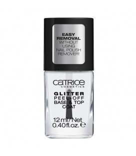 catr. Dazzle Bomb Glitter Peel-Off Base & Topcoat C01