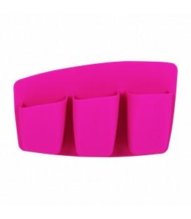 3 Pocket Expert Organizer-pink - Soporte con 3 compartimentos rosa REAL TECHNIQUES