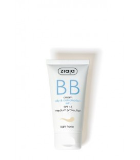 Ziaja BB cream pieles grasas y mixtas SPF15 Claro 50ML