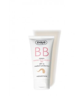 Ziaja BB cream pieles normales, secas y sensibles SPF15 Natural 50ML