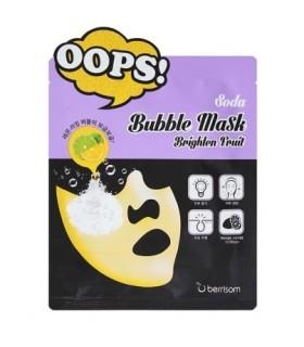 Soda Bubble Mask_Brighten Fruit BERRISOM
