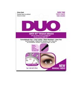 Pegamento DUO Quick Set Oscuro 5 ml - Ardell