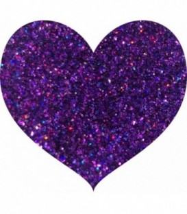 Glitters prensado Purple Rain With Love Cosmetics