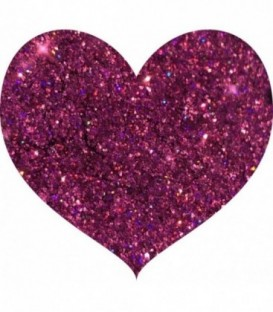 Glitters prensado Hot Pink With Love Cosmetics