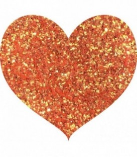 Glitters prensado Orange Burst With Love Cosmetics