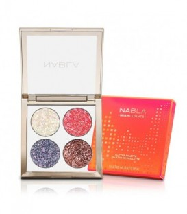 Nabla Miami Lights Glitter Palette