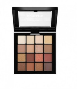 ULTIMATE shadow palette warm neutrals 16x0,83 gr - Nyx