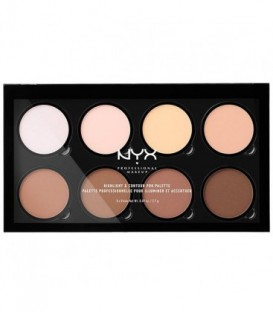 HIGHLIGHT & CONTOUR PRO palette 8x2,7 gr - Nyx