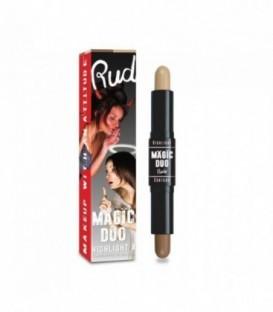 Rude - MAGIC DUO Highlight & Contour - Medium