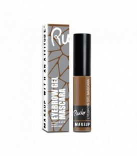 Rude - Eyebrow Gel Mascara- Natural Brown